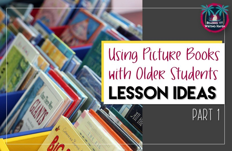Using picture books with middle and high school students is an engaging and meaningful way to discuss how and why authors use literary devices and grammatical concepts purposefully to add to their stories.