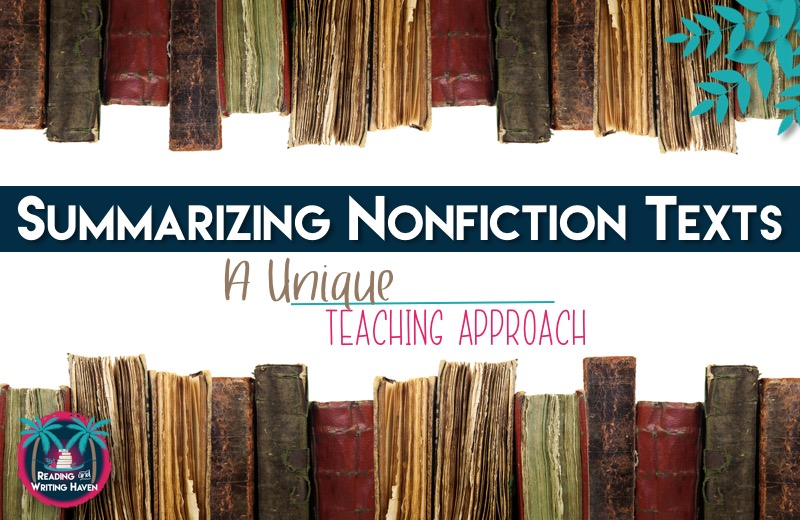 Looking for a meaningful strategy for helping students summarizing nonfiction texts? Try this reporter approach, which works especially well with struggling readers at the secondary level.