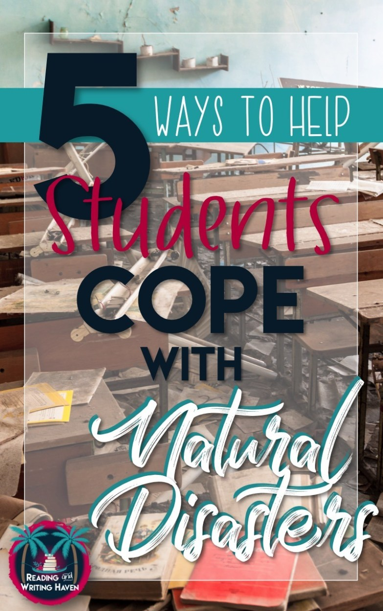 It's important to help students deal with tragedies in life, even if that means our planned lesson is temporarily delayed. In this post, read about five meaningful and practical ways teachers can support students by helping them cope with natural disasters.