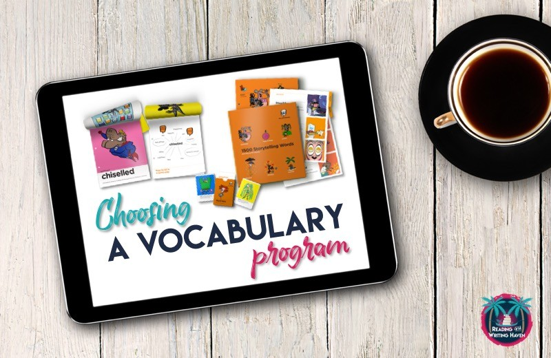 Choosing a vocabulary program for middle or high school? These four options are worth consideration. #vocabulary #highschoolenglish