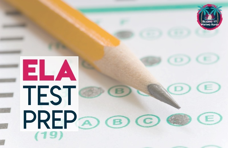 Read about 8 strategies that make ELA test prep manageable. #highschoolela #elatestprep
