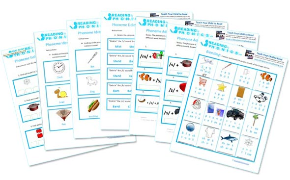 Reading And Phonics Worksheets For Kids