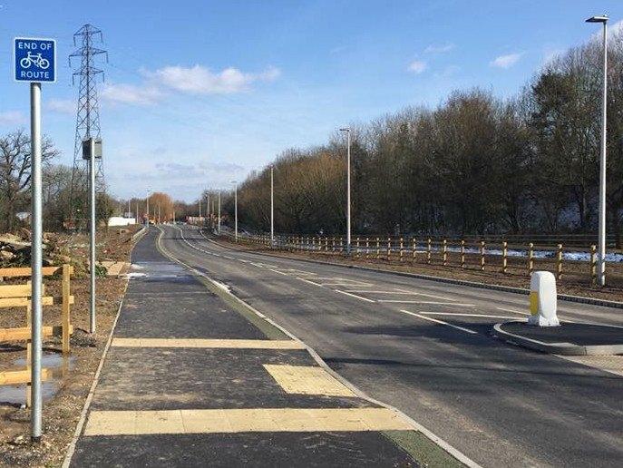 Winnersh Relief Road Phase 1