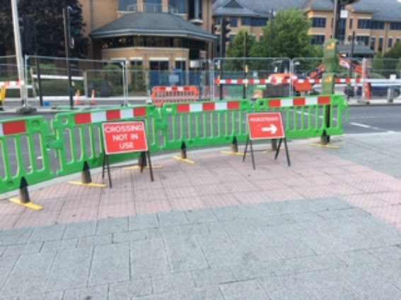 Poor signage for cyclists 1