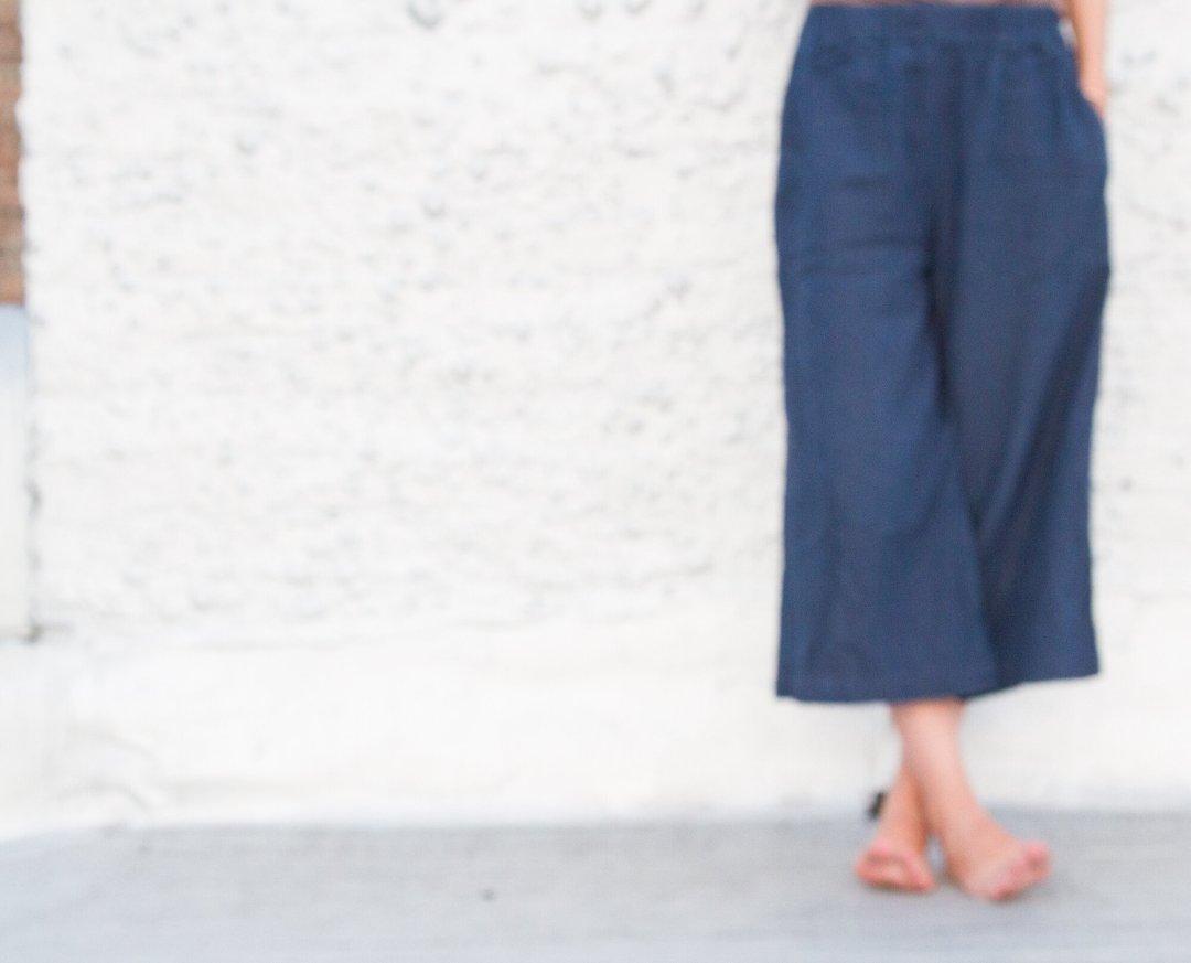 growing a minimalist wardrobe culottes – Reading My Tea