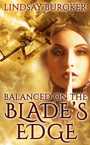 balanced on the blade's edge by lindsay buroker