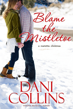 blame the mistletoe by dani collins