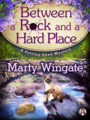between a rock and a hard place by marty wingate