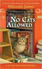 no cats allowed by miranda james