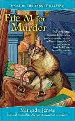 file m for murder by miranda james