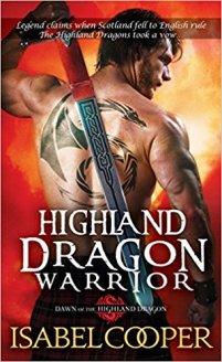 highland dragon warrior by isabel cooper