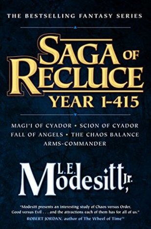 Saga of Recluce Year 1-415 by le modesitt jr