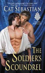 soldiers scoundrel by cat sebastian