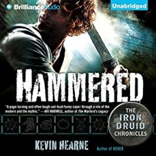hammered by kevin hearne audio