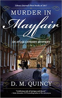murder in mayfair by dm quincy