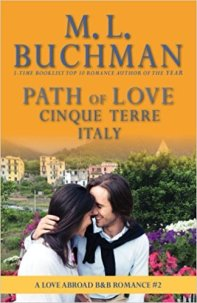 path of love cinque terre italy by ml buchman