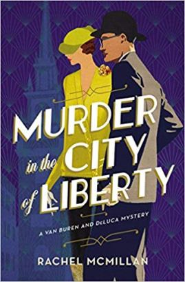 murder int he city of liberty by rachel mcmilan