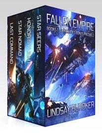 fallen empire omnibus by lindsay buroker
