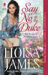 say no to the duke by eloisa james