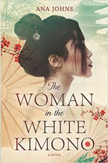 woman in the white kimono by ana johns