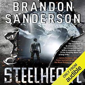 steelheart by brandon sanderson audio
