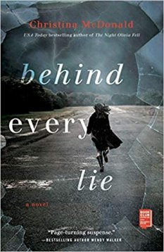 behind every lie by christina mcdonald