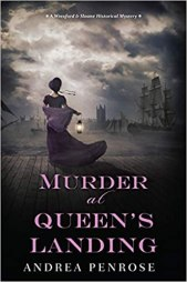 murder at queens landing by andrea penrose