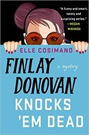 finlay donovan knocks em dead by elle cosimano