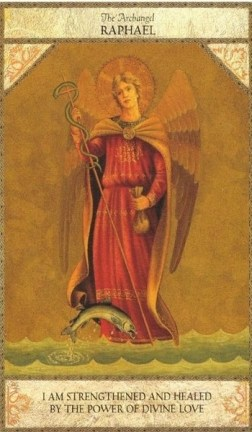 Free Angel Reading with the The Archangel Raphael