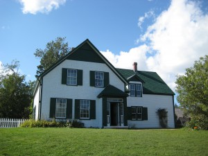 The real Green Gables (copyright Pam Gibson)