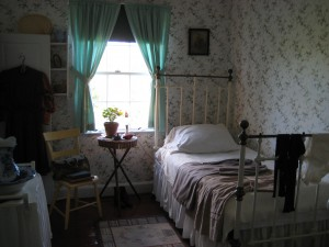 Maud's bedroom (copyright Pam Gibson)