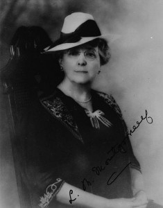 Lucy Maud Montgomery, author of Anne Of Green Gables (Credit: Library and Archives Canada / C-011299)