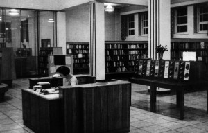 Manor Library in the 1950s, when Barbara would have first known it