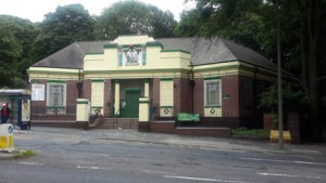 The old Firth Park Library building today