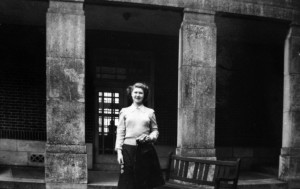 Jean Wolfendale at High Storrs School 1950