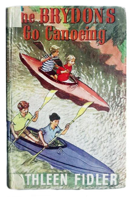 the Brydons go canoeing by Kathleen Fidler