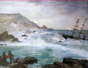 florence-cowood-Golden-Wreck-at-Anglesea
