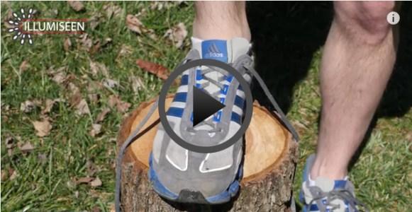 etra shoelace hole prevents blisters