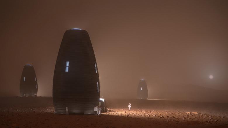 Марсиане будут жить в капсулах MARSHA