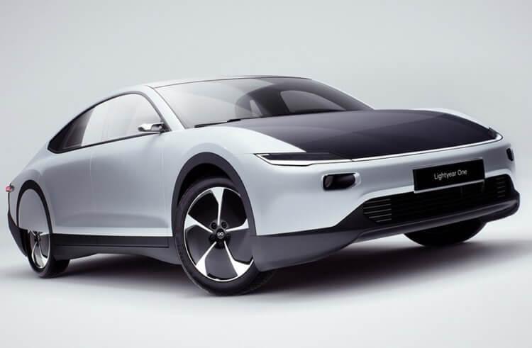 Lightyear One - электромобиль на солнечной энергии