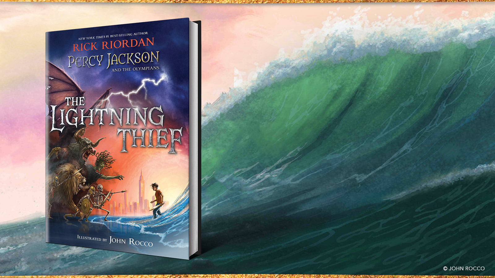 September Book Club The Lightning Thief Illustrated Edition
