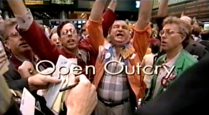 Image result for open outcry system of trading