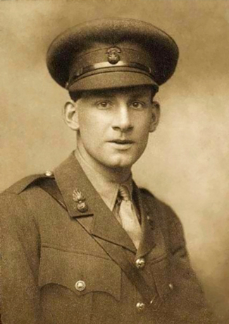 Photo of Siegfried Sassoon by George Charles Beresford