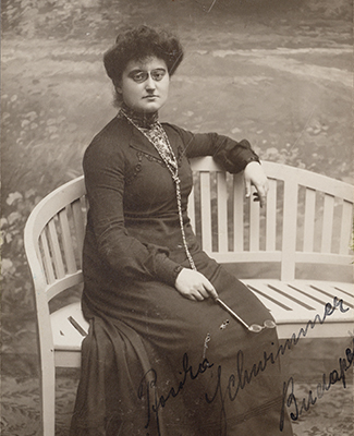 Photograph of Rosika Schwimmer