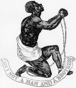 The official medallion of the British Anti-Slavery Society