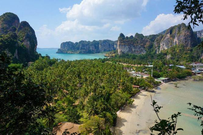 Thailand Krabi/ Railay Bay by Carrie