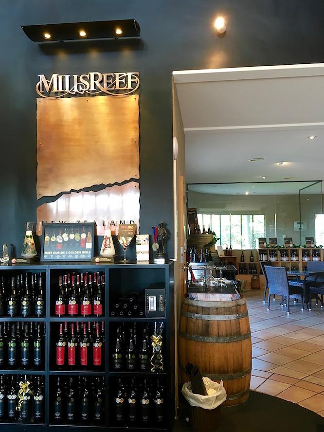 NZ Mills Reef Vineyard 1