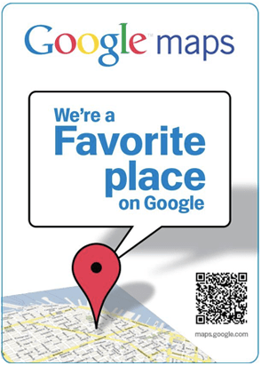 Google Favorite Places