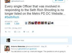 seth rich DC police