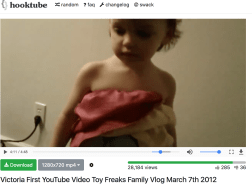 "Earliest known video of ""Annabelle"" March 2017"